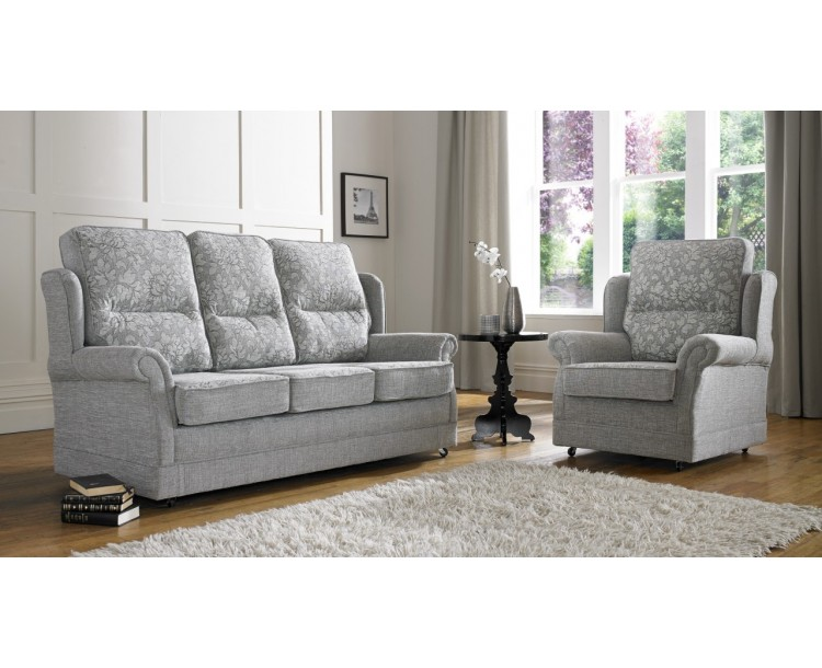 Jessica Brindisi 3+2 Seat Deep Fill Fabric Living Room Sofas
