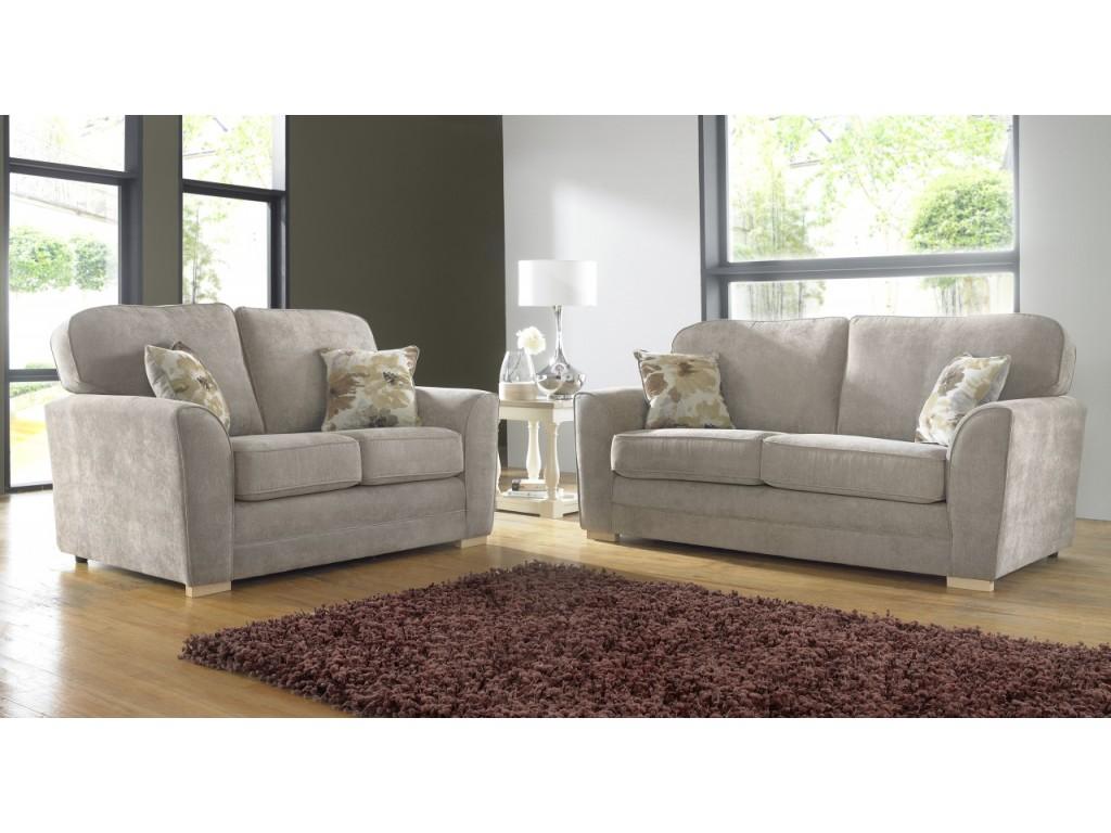 Outstanding Keira Fabric 3 2 Seat Deep Fill Fabric Living Room Sofas Machost Co Dining Chair Design Ideas Machostcouk