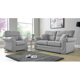 Luna Halifax 3+2 Seat Deep Fill Fabric Living Room Sofas