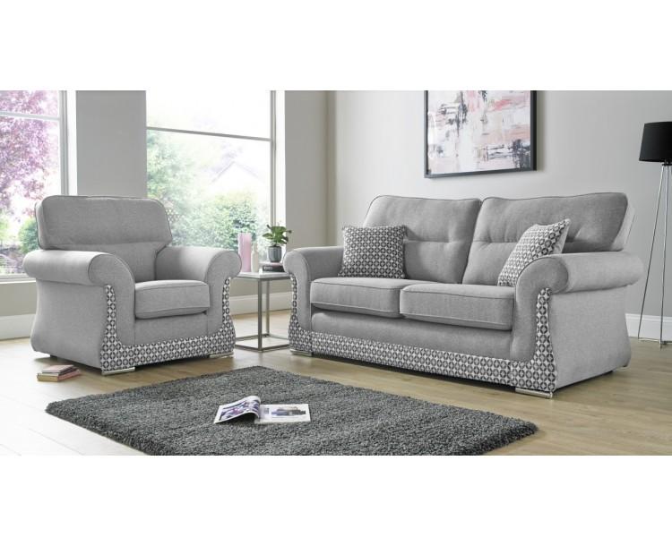 Luna Halifax 3+2 Seat Deep Fill Fabric Living Room Sofas