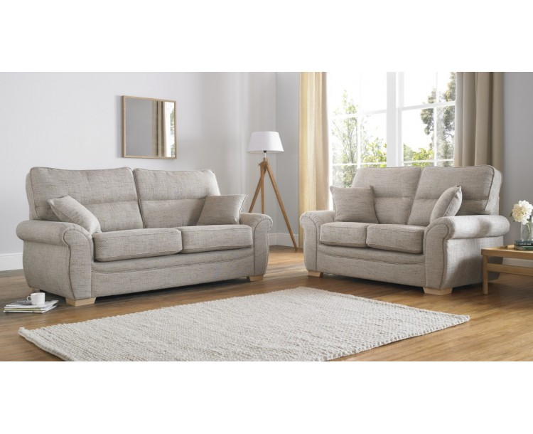 Milan Cannes 3+2 Seat Deep Fill Fabric Living Room Sofas