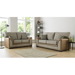 Oakland Nevada 3+2 Seat Deep Fill Fabric Living Room Sofas