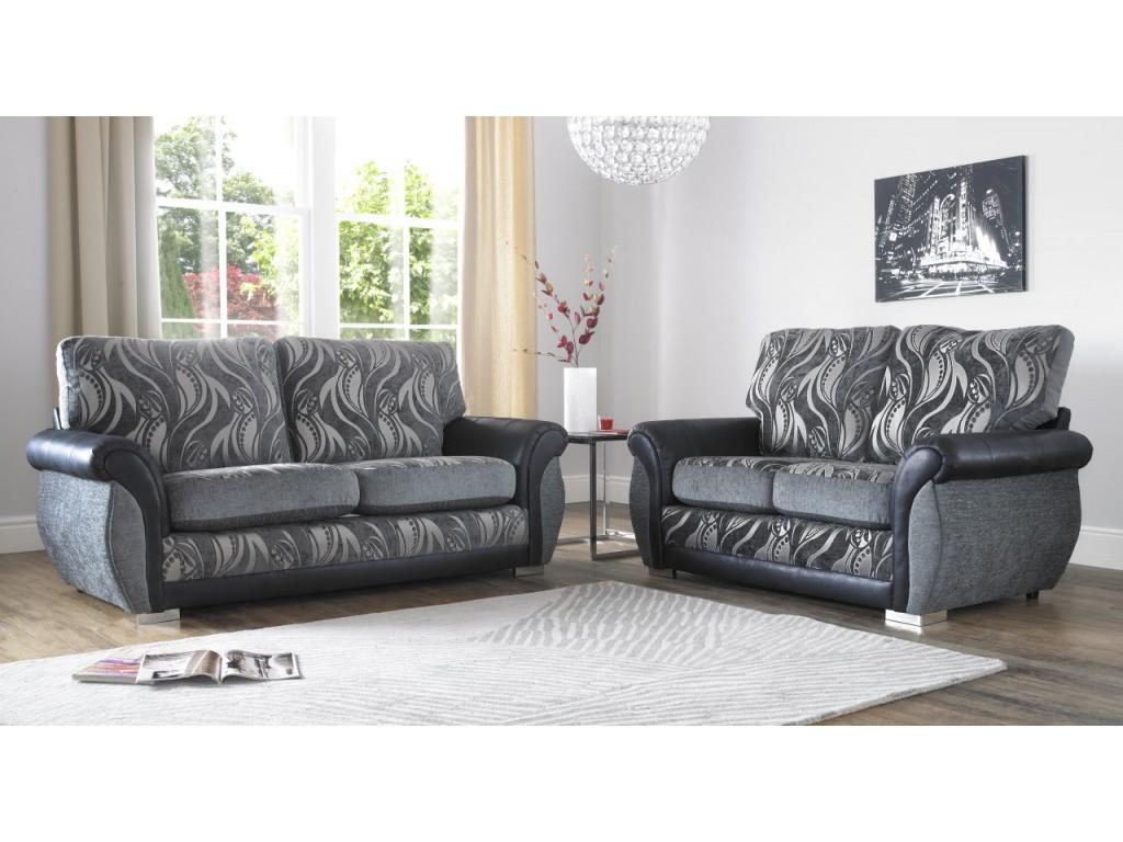 Astonishing Sofia Zest 3 2 Seat Deep Fill Fabric Living Room Sofas Machost Co Dining Chair Design Ideas Machostcouk