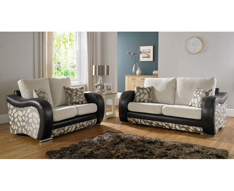 San Marino Floral Fabric Sofa Collection