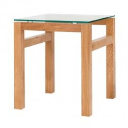 Tribeca Stylish Contemporary Oak End Table