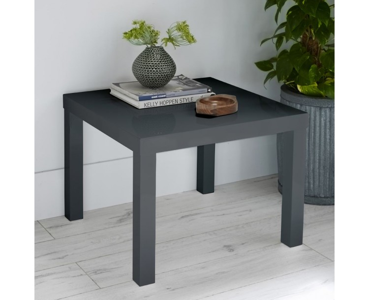 Monroe PUro Small Dining Table Charcoal