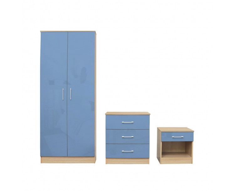 Dakota Bedroom Set Blue