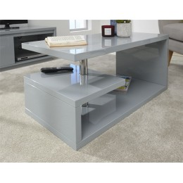 Polar High Gloss LED Coffee Table Grey