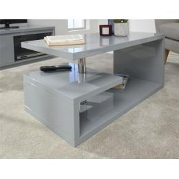 Polar High Gloss LED Coffee Table Grey
