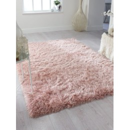 Shaggy Blush Pink Soft Dazzle Rug