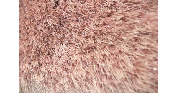 Shaggy Blush Pink Soft Dazzle Rug
