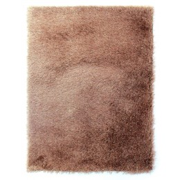 Contemporary Caramel Shaggy Dazzle Rug