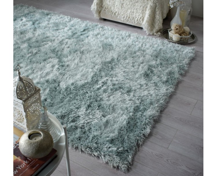 Shaggy Duck Egg Dazzle Rug