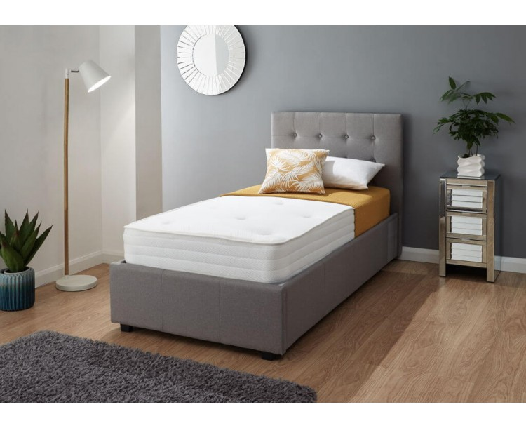 Athena Luxury Tufted Bonnell 3FT Memory Foam Mattress