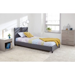 90cm Bed In A Box Grey