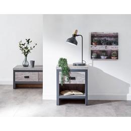 Boston Lamp Table Grey