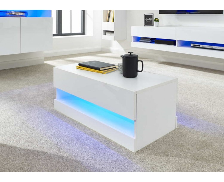 Galicia Coffee Table White