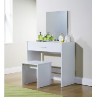 Julia Modern Bedroom Vanity Dressing Table White