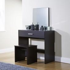 Julia Modern Bedroom Vanity Dressing Table Espresso