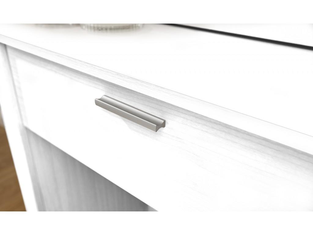 uk availability f424b a6746 White Hobson Dressing Table Sliding Mirror Stool Set Bedroom