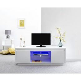 Polar High Gloss Led Large TV Unit White