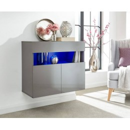 Galicia Sideboard in Grey with Led Lights