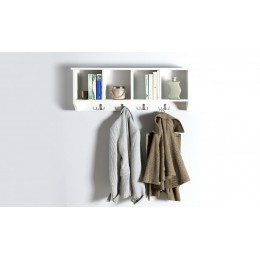 Kempton Wall Rack White