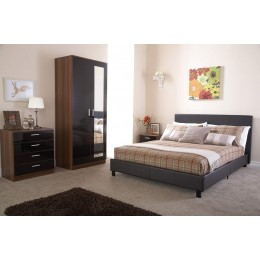 150cm Bed In A Box Brown