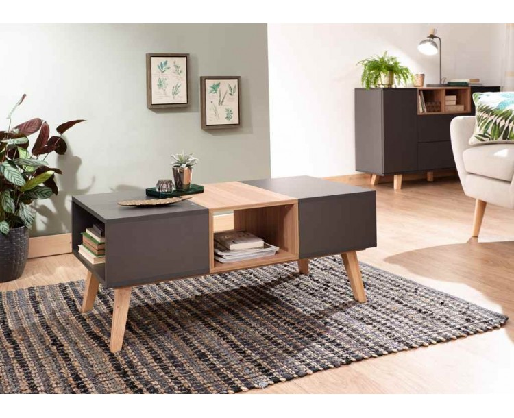 Modena Simple Coffee Table Grey
