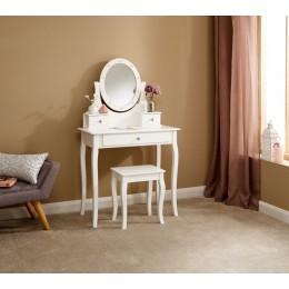 Grace Led Dressing Table White