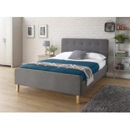 Ashbourne 150cm Bedstead Grey