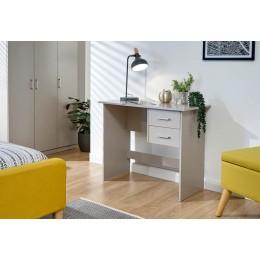 Panama 2 Drawer Desk Grey