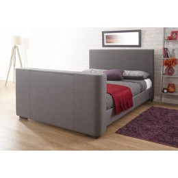 Newark 135cm Electric TV Bed Grey