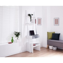 Ladder Desk White