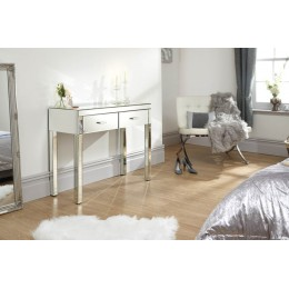 Venetian Dressing Table Clear Mirror Finish