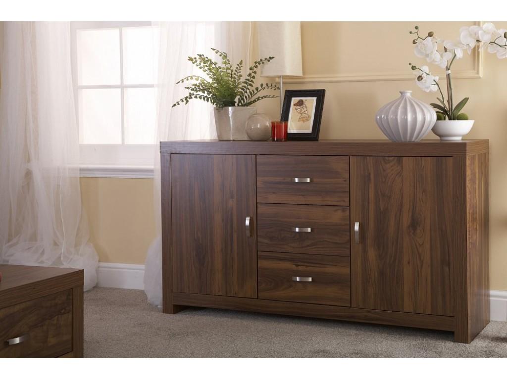 Hampton sideboard acacia wood living room furniture