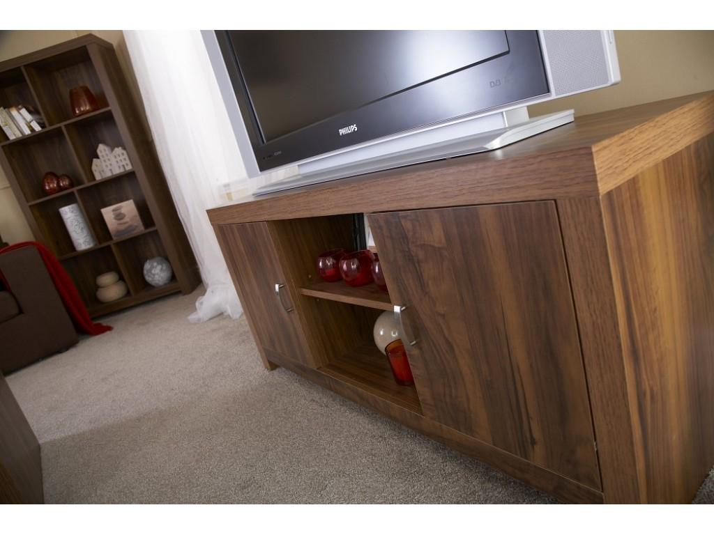 Acacia Wood Hampton 3 Drawer Sideboard Living Room Furniture