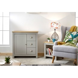 Contemporary Lancaster Grey Multi-Unit Storage Cabinet