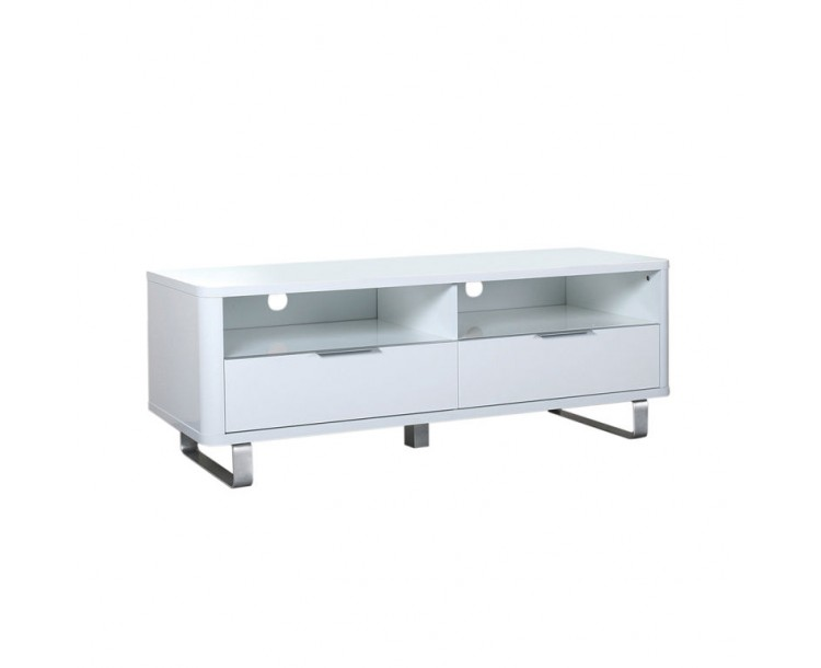Entertainment Accent High Gloss TV Unit White