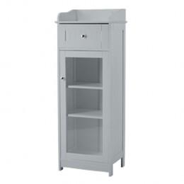 Alaska Grey Bathroom Glass Cabinet