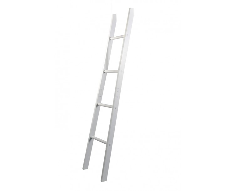 Alaska White Bathroom Towel Ladder Unit