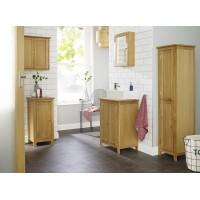 Ocean Range Solid Oak Elegant Bathroom Vanity Sink Unit
