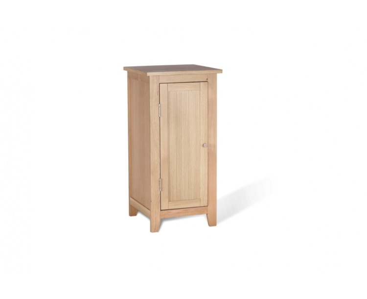 Ocean Oak Small Bathroom Storage Cabinet