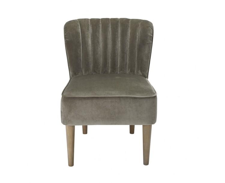 Bella Vintage Grey Chair Steel