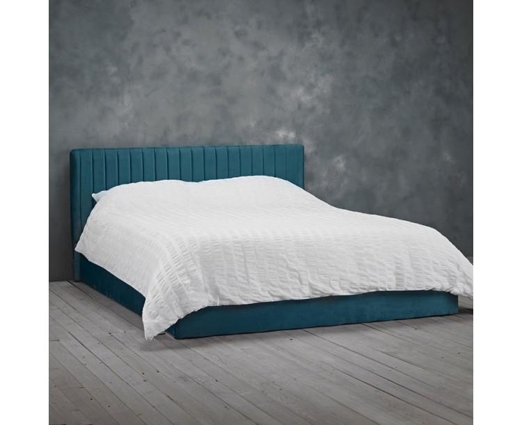 Berlin Bedroom Teal Contemporary Kingsize Bed