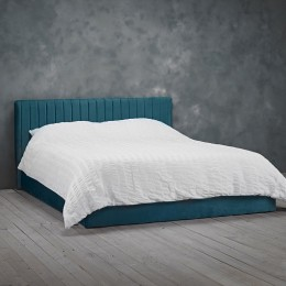 Berlin Teal Bedroom Ottoman Lift Small Double Bed