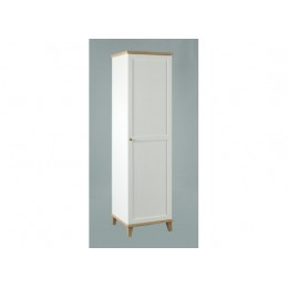 Boston 1 Door Modern Traditional Style Bedroom Wardrobe