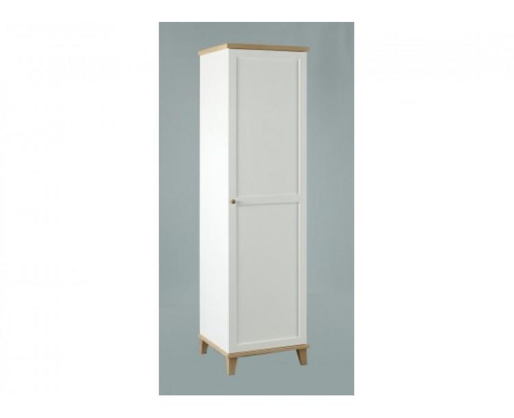 Boston 1 Door Modern Traditional Style Bedroom Wardrobe
