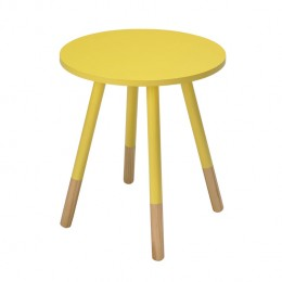 Costa Bright Yellow Side Table