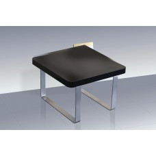 Accent Contemporary Living Room End Lamp Table In High Gloss